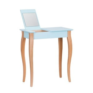 Světle tyrkysový toaletní stolek se zrcadlem Ragaba Dressing Table,délka65cm