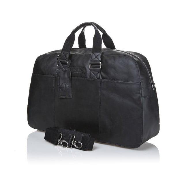 Pánská kožená taška Ferruccio Laconi 101 Black