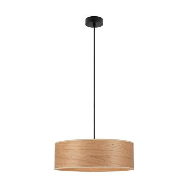 Závěsné svítidlo se stínidlem ze dřeva třešně Sotto Luce TSURI XL