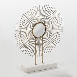 Oglindă pentru masă Thai Natura Rogo, detalii aurii