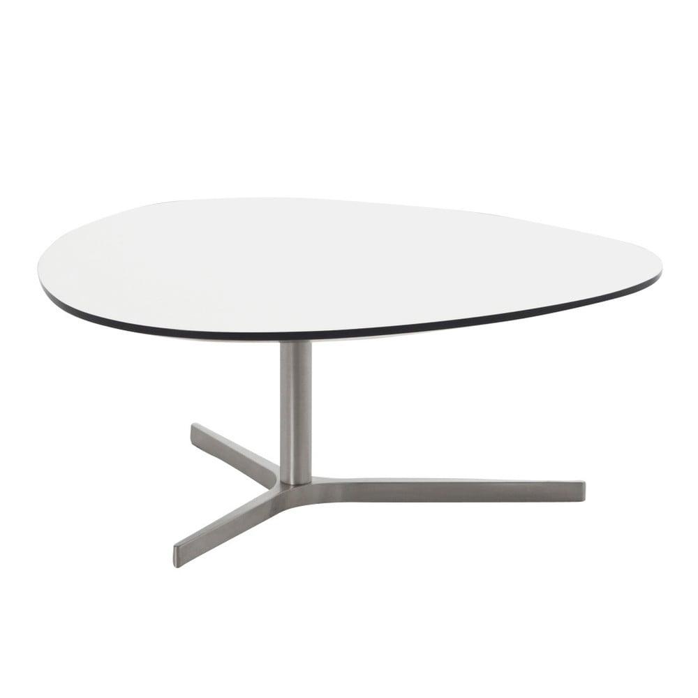Bílý konferenční stolek Actona Plector, 84 x 34,3 cm