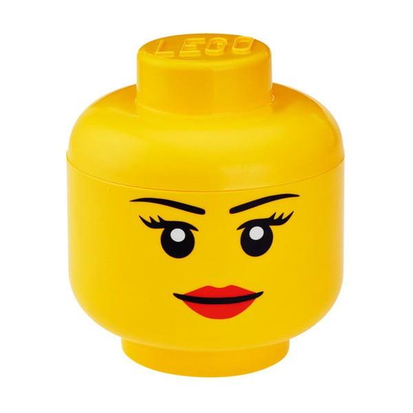 Figurină depozitare LEGO® Girl, Ø 24,2 cm