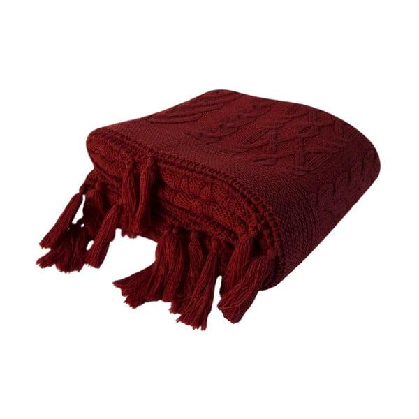 Pătură Daniela, 130 x 170 cm, roșu vișiniu
