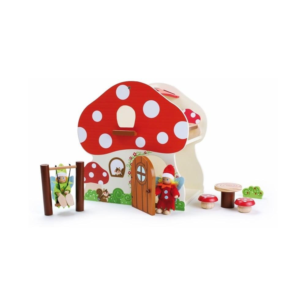 Dřevěný domeček na hraní Legler Mushroom House