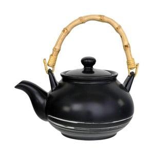 Černá konvička na čaj Tokyo Design Studio Maru,1000ml