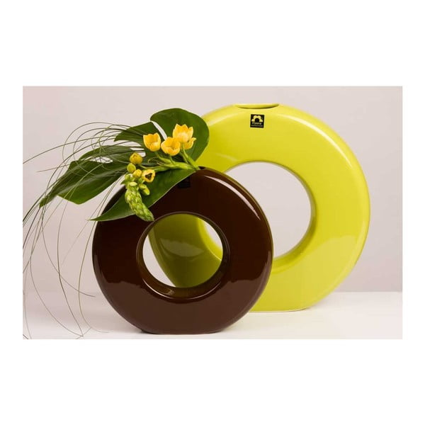 Váza Seina 35 cm, zelená