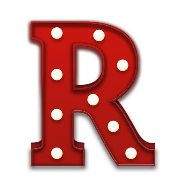 Dekorativní světlo Carnival R, červené