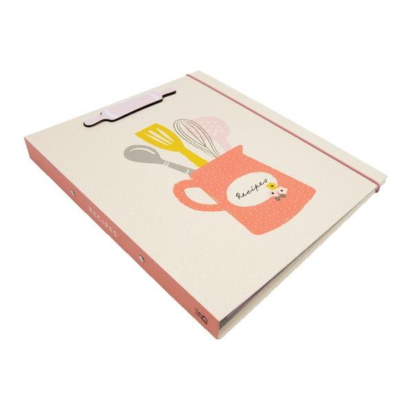 Carte rețete Busy B Recipe Floral A4
