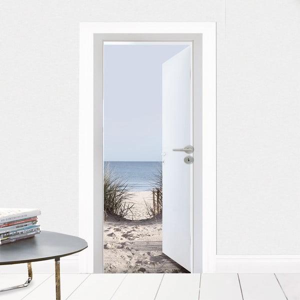 Samolepka na dveře K moři