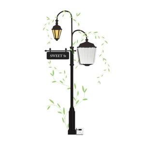 Nástěnné svítidlo se samolepkou Mauro Ferretti Street