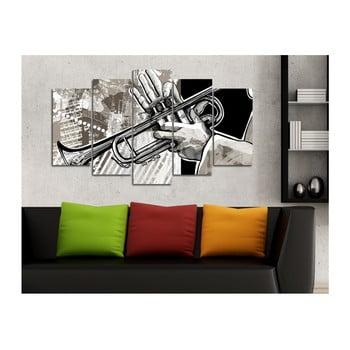 Tablou din mai multe piese Insigne Griet, 102 x 60 cm
