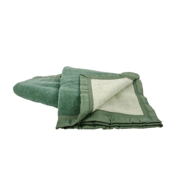Vlněná deka Sarrazin GReen, 150x220 cm