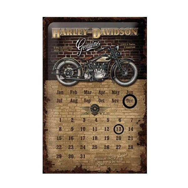 Plechová cedule Harley Davidson, 20x30 cm