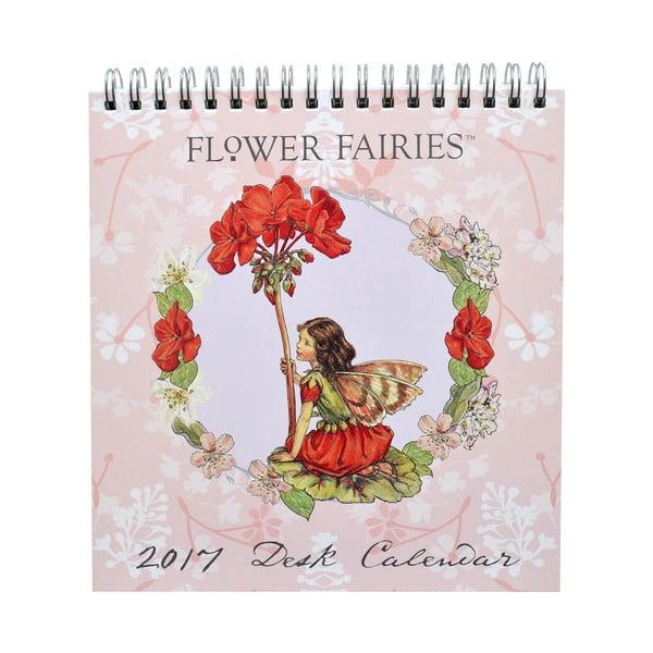 Stolní kalendář Portico Designs Flower Fairies