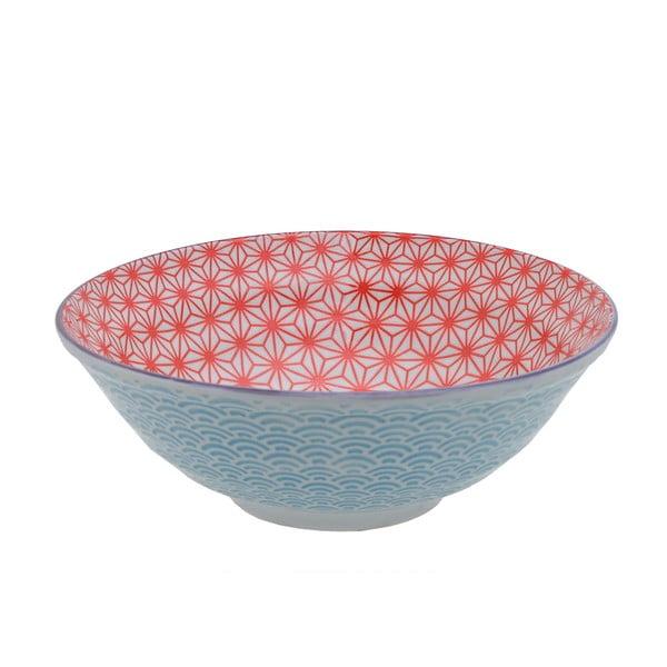 Porcelánová miska Star Red, 21 cm