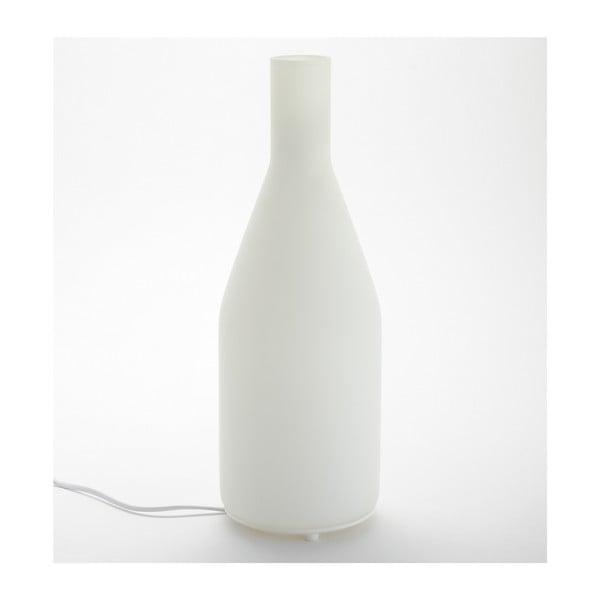 Bílá stolní lampa ComingB Long Bottle