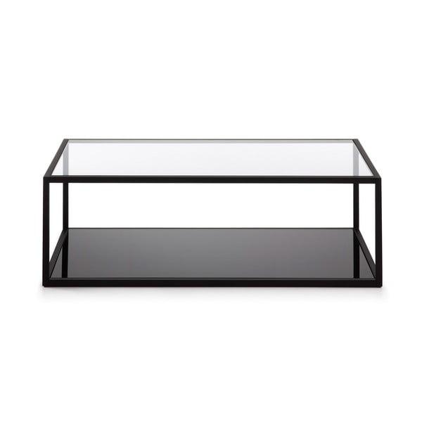 Černý konferenční stolek La Forma Green Hill, 110x60cm