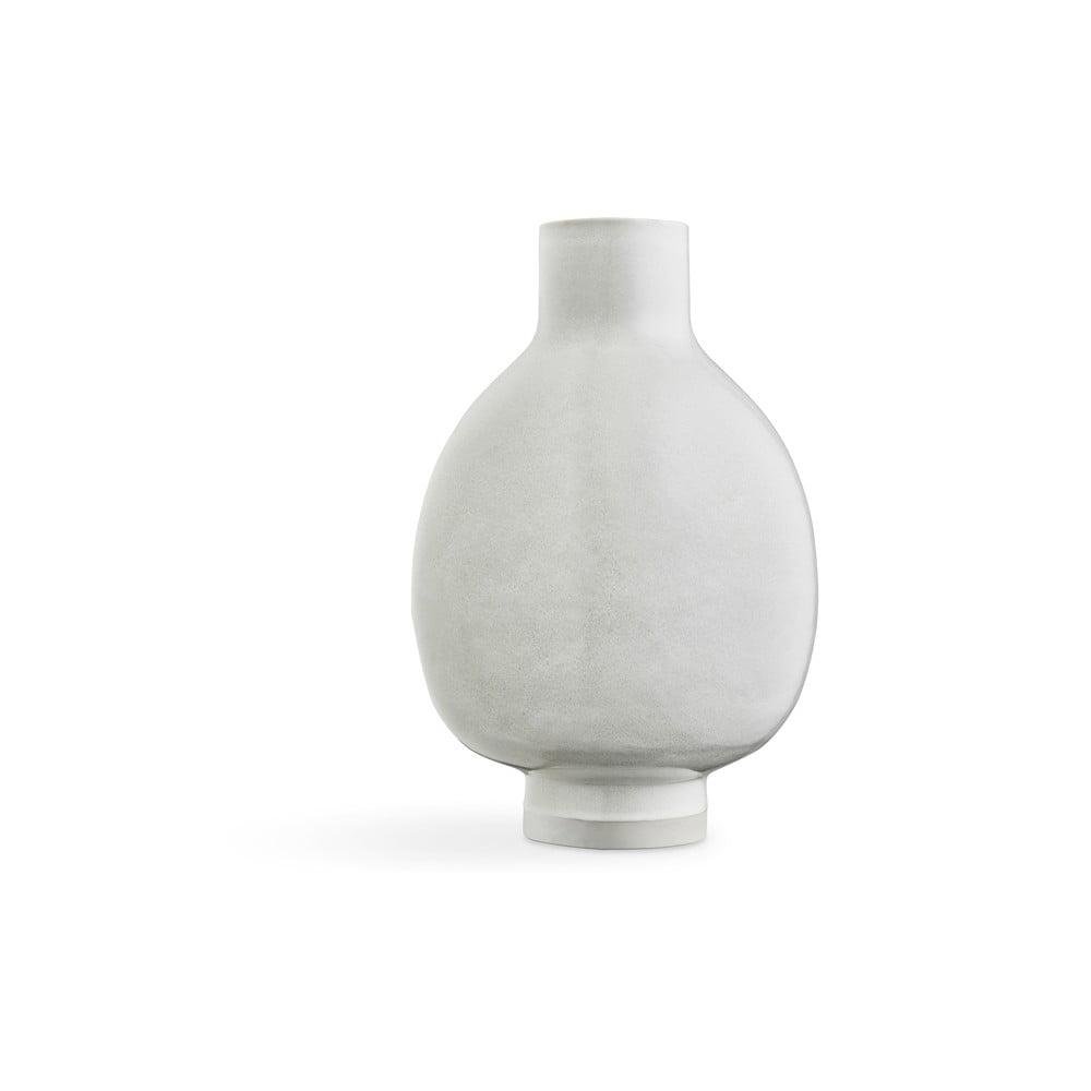 Bílá porcelánová volně stojící váza Kähler Design Unico, výška 50 cm