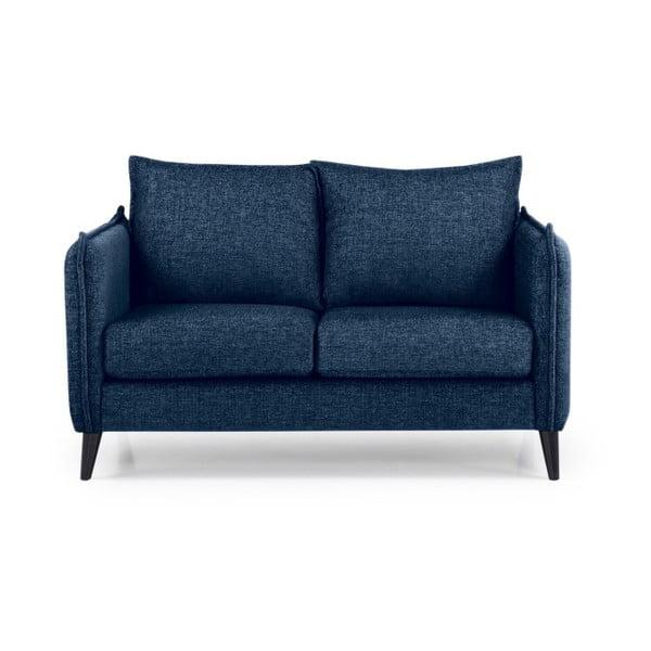 Ciemnoniebieska sofa 2-osobowa Softnord Leo