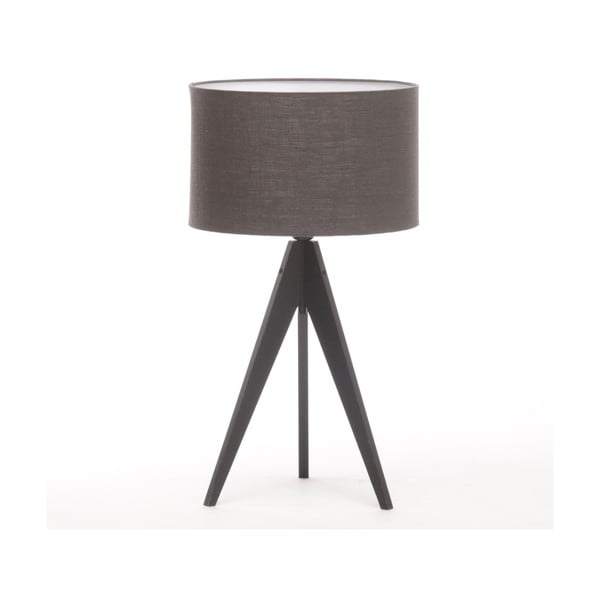 Stolní lampa Arist Dark Grey/Black