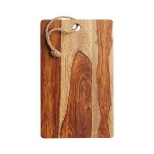 Prkénko z palisandrového dřeva Kitchen Craft Master Class,41x25cm