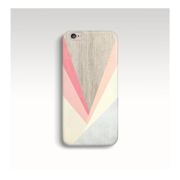Obal na telefon Wood Triangles III pro iPhone 5/5S