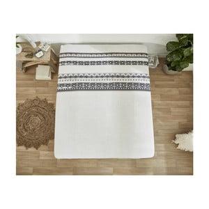 Bílé bavlněné prostěradlo Dreamhouse Scandinavian, 180 x 200 cm