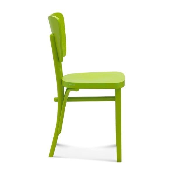 Sada 2 zelených dřevěných židlí Fameg Gitte