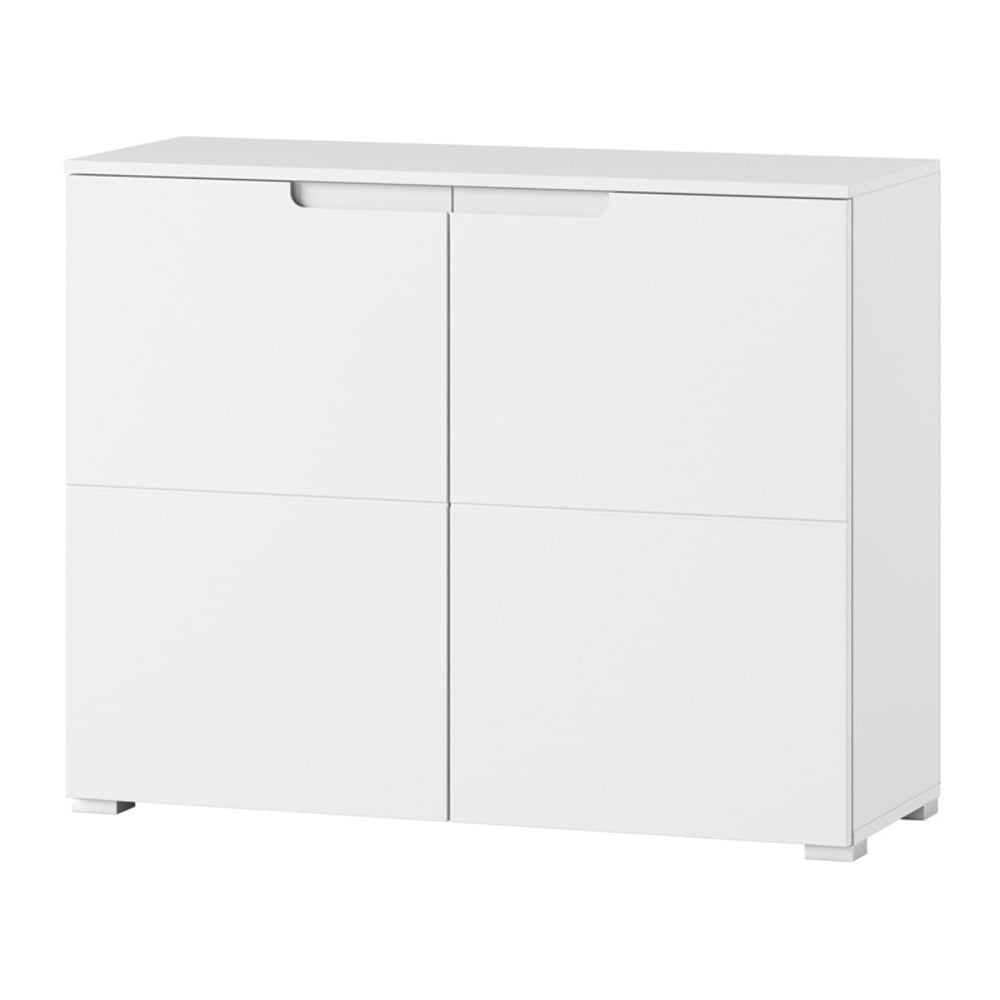 Bílá dvoudveřová komoda Szynaka Meble Original