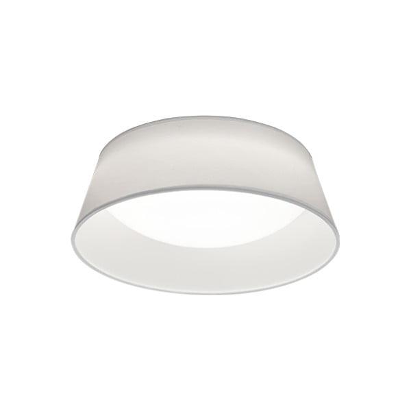 Biała lampa sufitowa LED Trio Ponts, średnica 34 cm