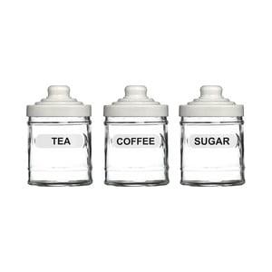 Sada 3 dóz na čaj, kávu a cukr Premier Housewares, 760ml
