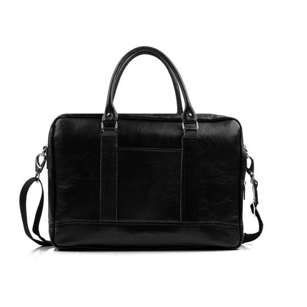 Pánská kožená taška Solier SL02 Black