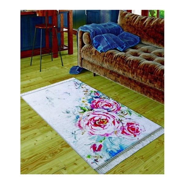 Dětský koberec Disegno Pink, 80x150cm