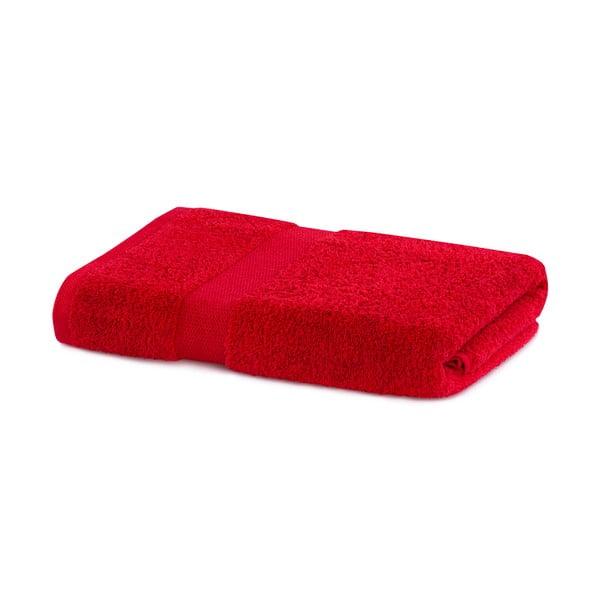 Červený ručník DecoKing Marina, 70 x 140 cm