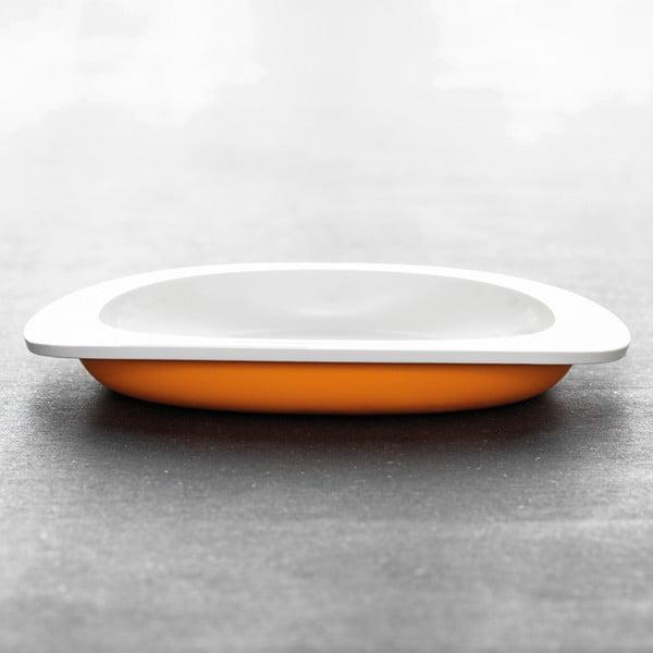 Dětský talíř, oranžový