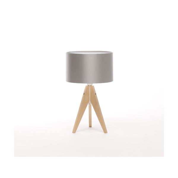 Stolní lampa Artista Birch/Silver, 28 cm