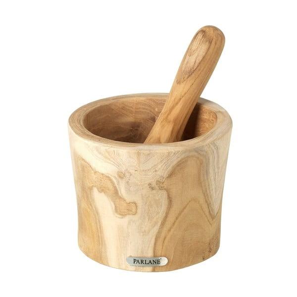 Dřevěný hmoždíř