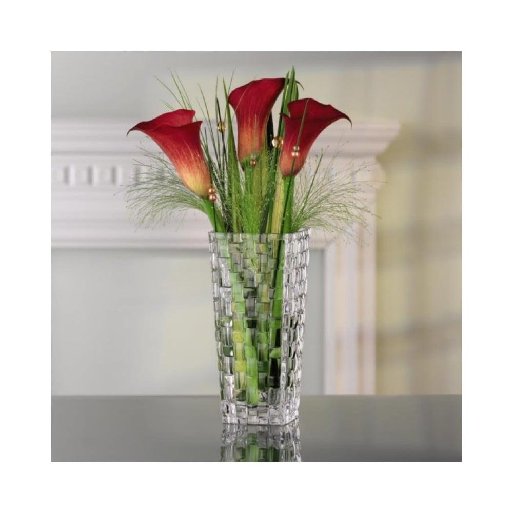 Váza z křišťálového skla Nachtmann Bossa Nova, výška16 cm Nachtmann