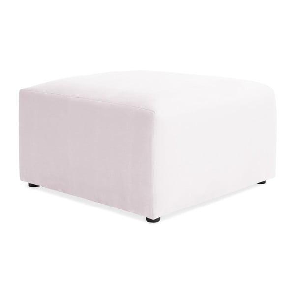 Světle fialová podnožka Vivonita Velvet Cube