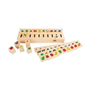 Joc educativ din lemn Legler Picture de la Legler
