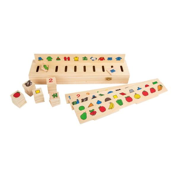 Joc educativ din lemn Legler Picture