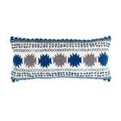 Modrý polštář s výplní Zuiver Sala, 65x30cm