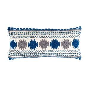Pernă cu umplutură Zuiver Sala, 65 x 30 cm, albastru