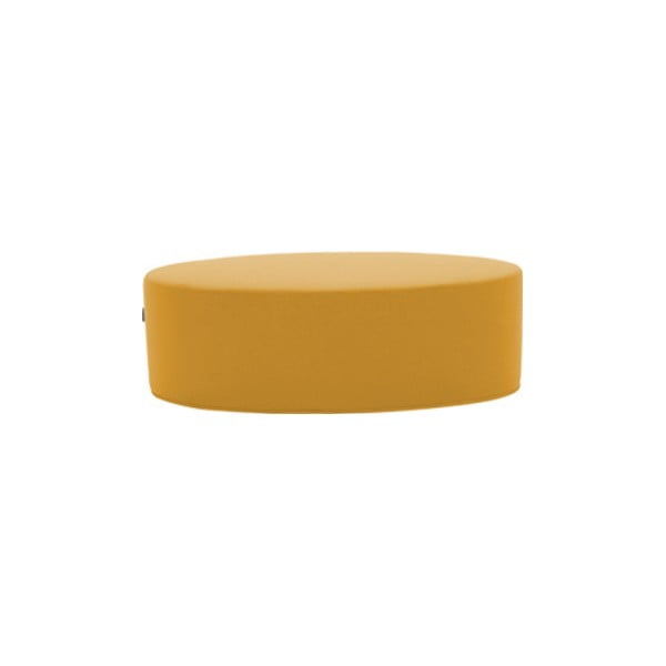 Bon-Bon Eco Cotton Yellow sárga puff, hosszúság 60 cm - Softline
