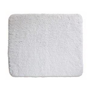 Bílá koupelnová podložka Kela Livana, 80x50cm