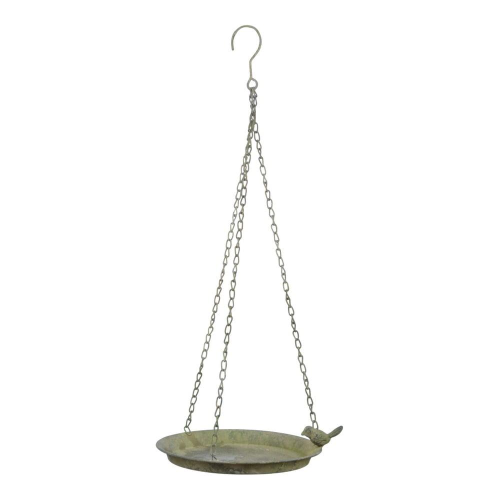 Závěsné pítko se zelenou patinou Esschert Design, ⌀ 24,3 cm
