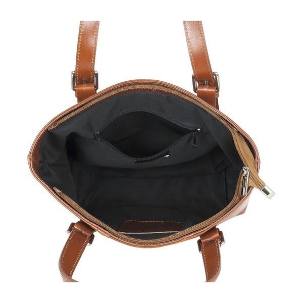Kožená kabelka Italian Lady, medová