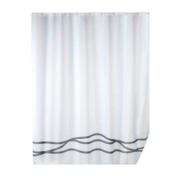 Perdea duș cu înveliș special anti cute Wenko Noa, 180x200cm, alb de la Wenko