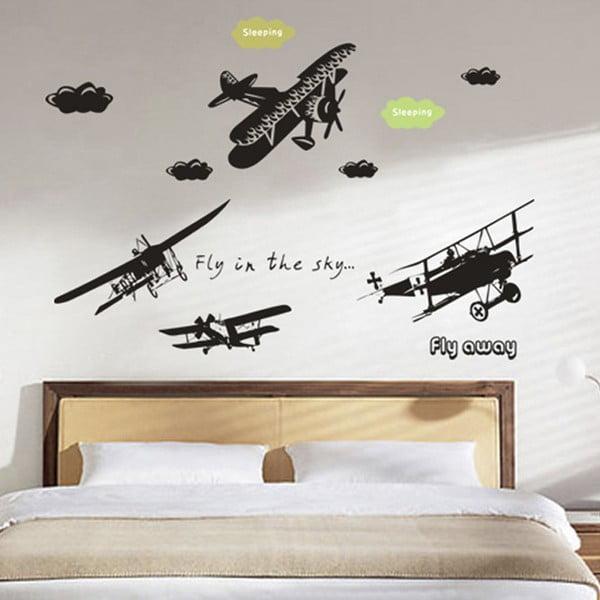 Dekorativní samolepka Fly Away, 120x145 cm