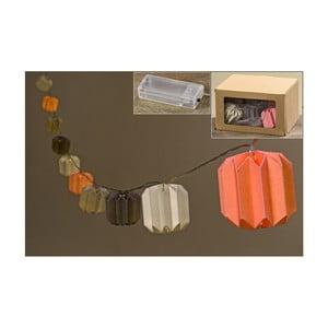 Světelný LED řetěz Boltze Pumpkin, délka 165cm